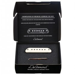DeArmond Tone Boss Soundhole Pickup Cream/Tort/BLK
