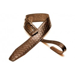 BOURBON Bandolera Serpiente Marron