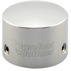 Barefoot Buttons 17-V1-TB Silver