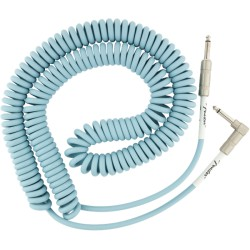 Fender Original Series Coil Cable 9m acodado Daphne Blue