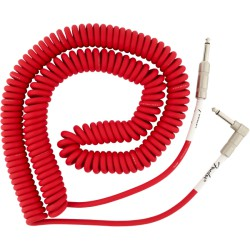 Fender Original Series Coil Cable 9m acodado Fiesta Red