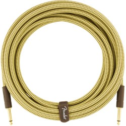 Fender Deluxe Series Cable Instrumento 3m Tweed