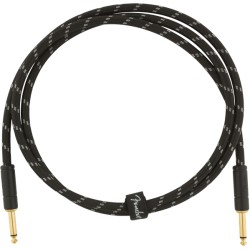 Fender Deluxe Series Cable Instrumento 1,5m Black Tweed
