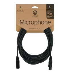 Planet Waves Cable CMIC10 Microfono 3 mts