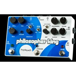 PIGTRONIX Philosophers King Compresor Tremolo Sustainer