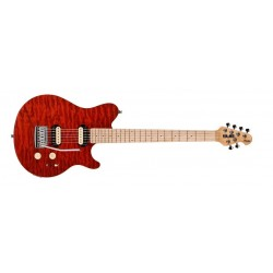 STERLING BY MUSIC MAN SUB AX3 Transparent Red