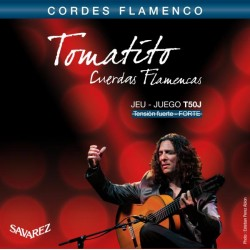 Savarez T50J Tomatito Flamenco Tension Alta